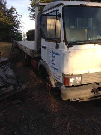 IVECO 1989 ROLLBACK PROJECT CHEVRON 20 ft ALUMINUM BED AND SPARE TRUCK for sale in Athens, GA – photo 12