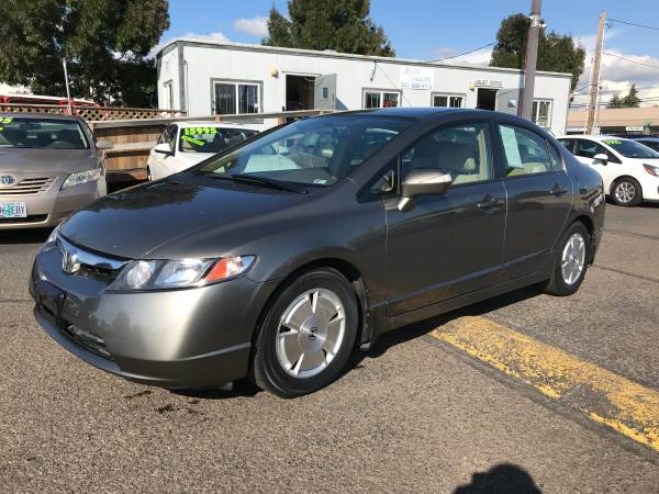 2007 HONDA CIVIC HYBRID SUPER CLEAN for sale in Eugene, OR – photo 3