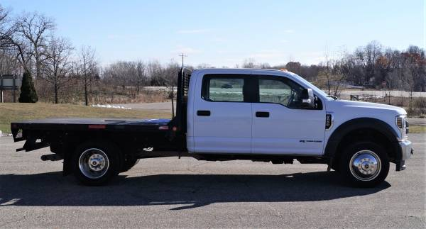 2018 Ford F550 XL - 9ft Flatbed - 4WD 6.7L V8 Utility Dump Box Truck... for sale in Dassel, MT – photo 2