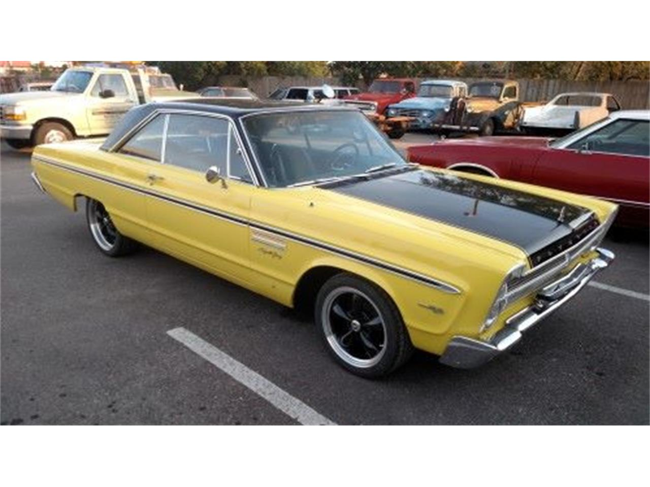 1965 Plymouth Sport Fury for sale in Cadillac, MI