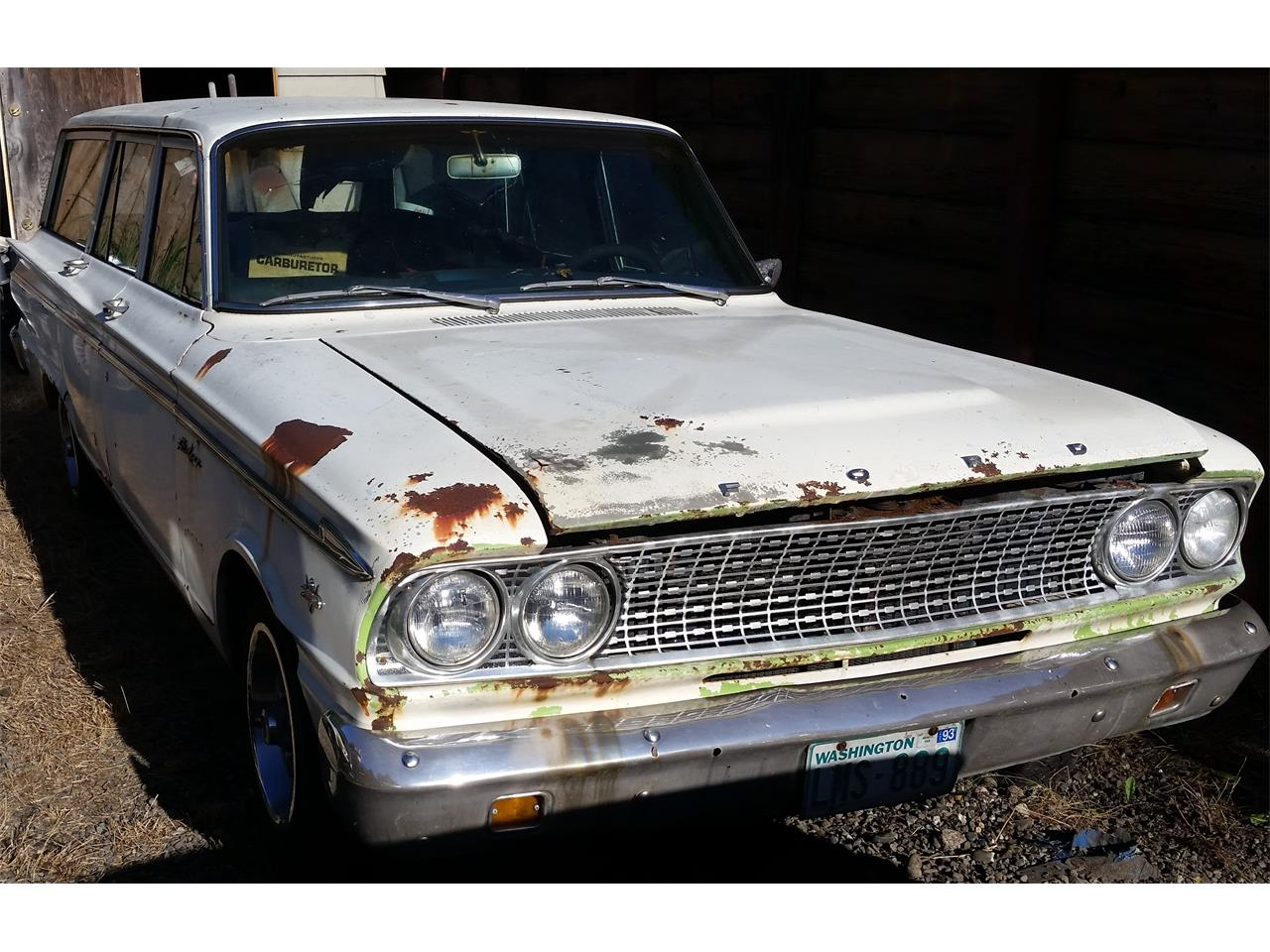 1963 Ford Ranch Wagon for sale in Carnation, WA