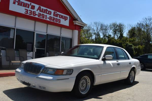 2001 mercury grand marquis ls with leather only 115 000 miles for sale in greensboro nc classiccarsbay com classiccarsbay