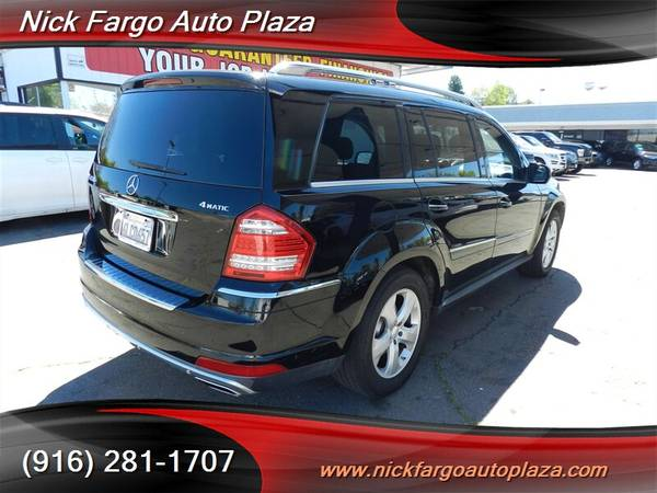 2010 MERCEDES-BENZ GL450 $3800 DOWN $195 PER MONTH(OAC)100%APPROVAL YO for sale in Sacramento , CA – photo 5