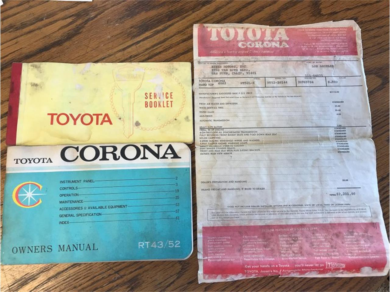 1969 Toyota Corona for sale in St. Charles, MO – photo 29