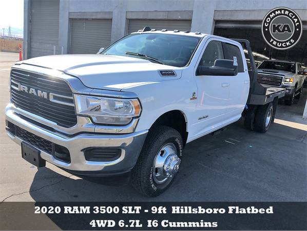 2018 Ford F550 XL - 9ft Flatbed - 4WD 6.7L V8 Utility Dump Box Truck... for sale in Dassel, MT – photo 5