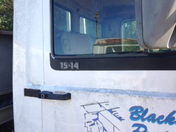 IVECO 1989 ROLLBACK PROJECT CHEVRON 20 ft ALUMINUM BED AND SPARE TRUCK for sale in Athens, GA – photo 7