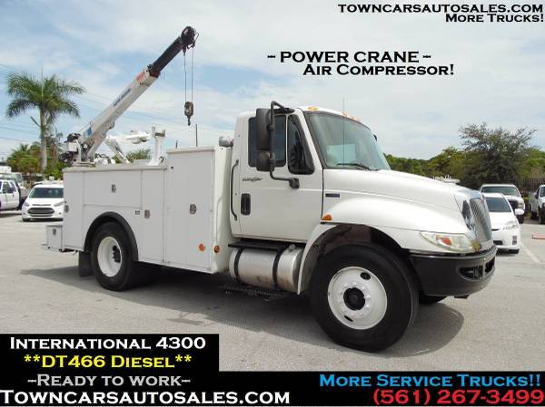 International Tool Utility body *CRANE Truck* MECHANIC SERVICE TRUCK for sale in West Palm Beach, FL