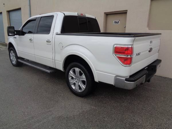 "2012 Ford F-150 2WD SuperCrew 145"" Lariat - cars & trucks - by... for sale in Miami, FL – photo 6"