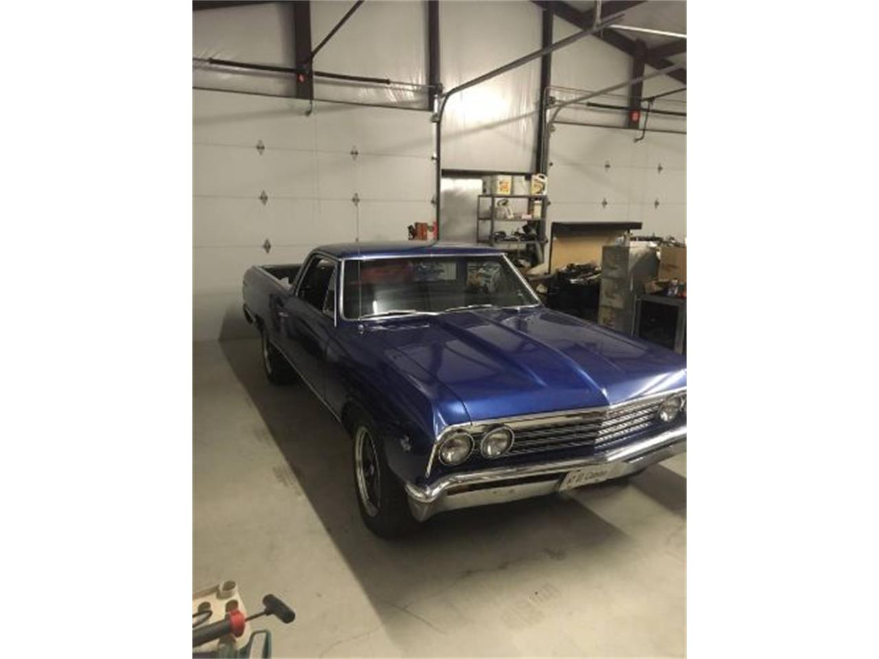 1967 Chevrolet El Camino for sale in Cadillac, MI