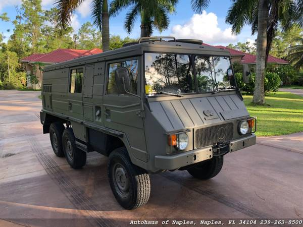 1977 Steyr Puch Pinzgauer 712K 6x6 Hard top! Very rare, Hard to find v for sale in Naples, FL