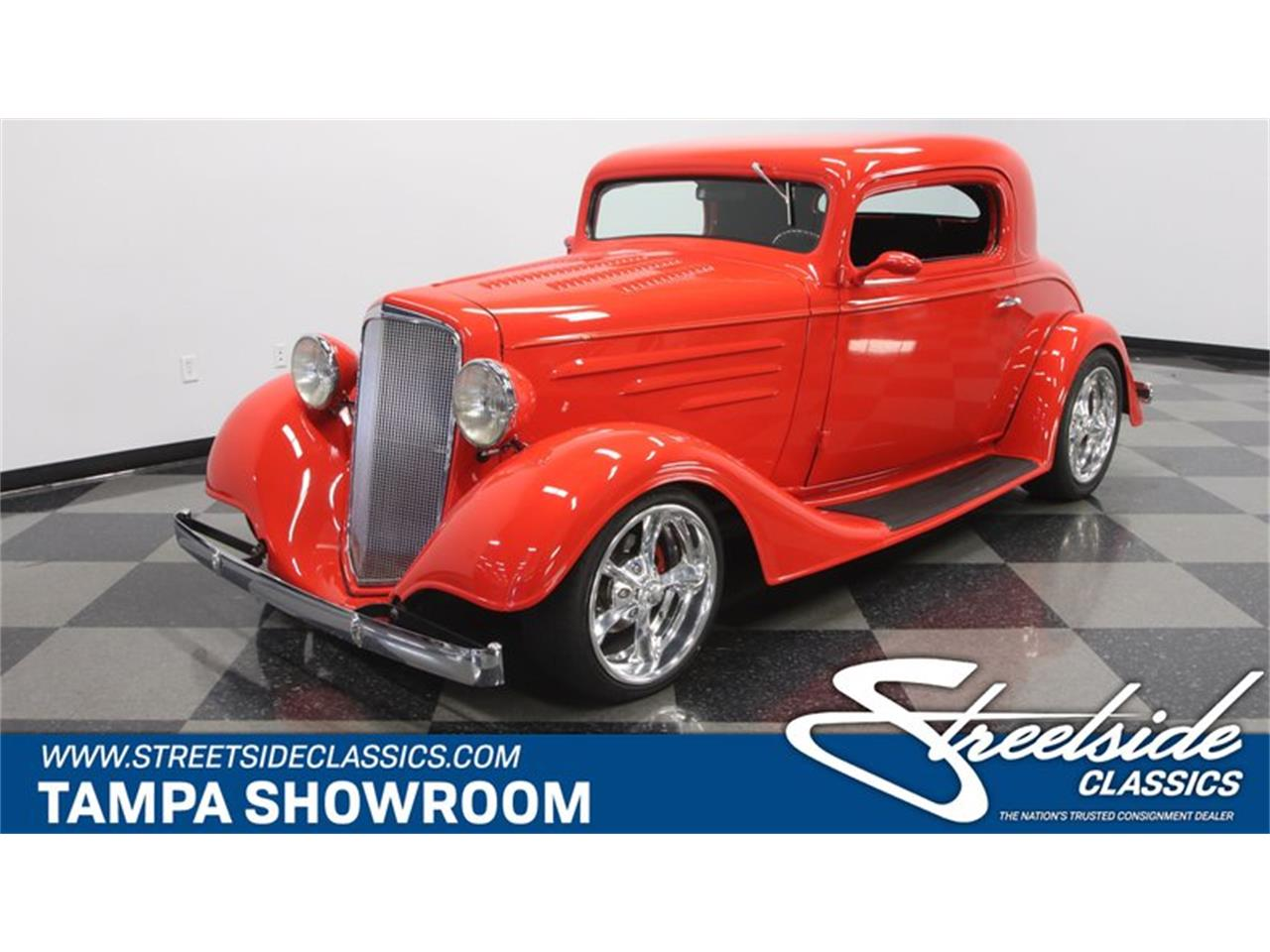 1934 Chevrolet 3-Window Coupe for sale in Lutz, FL