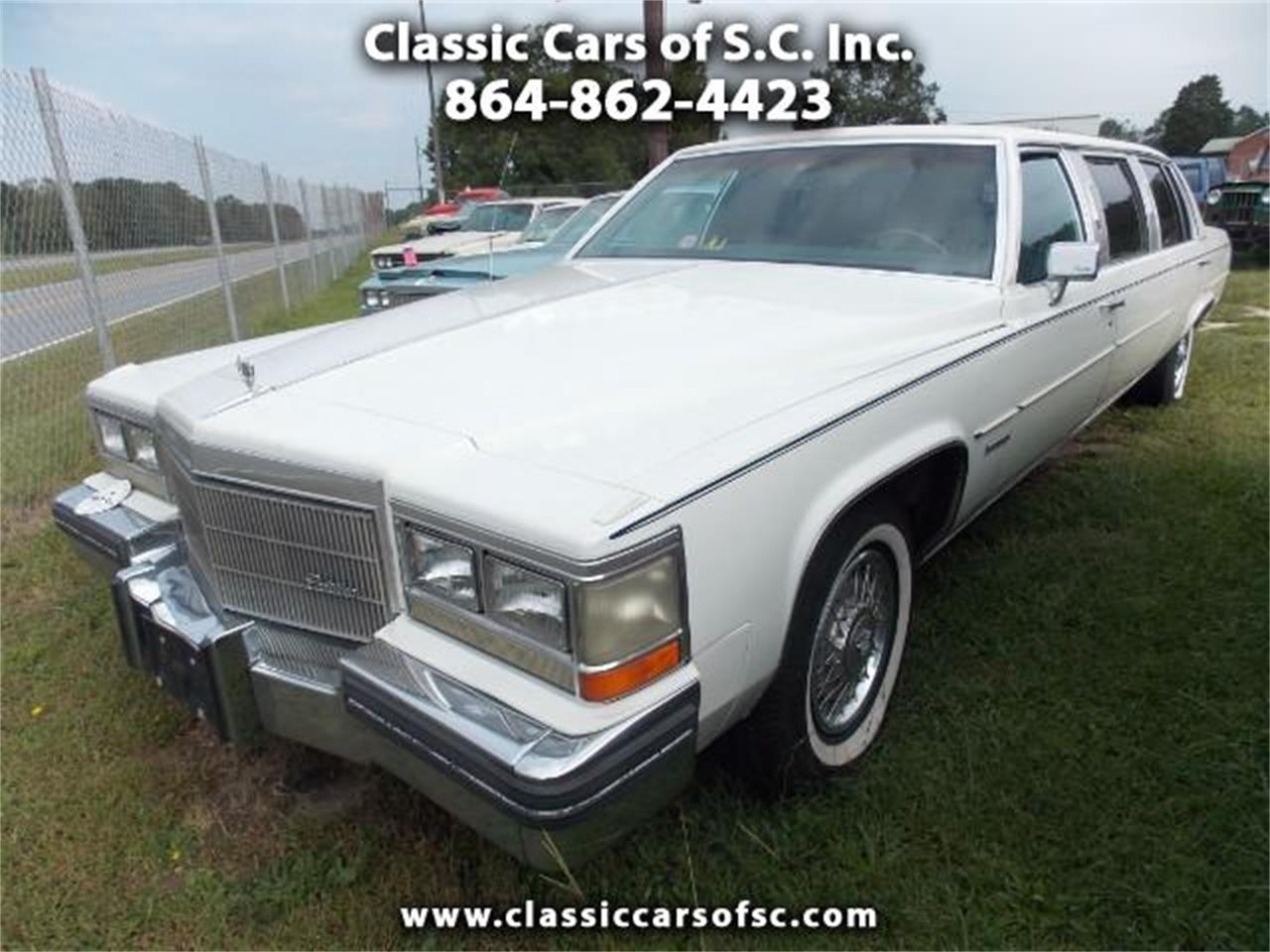 1983 Cadillac Limousine for sale in Gray Court, SC