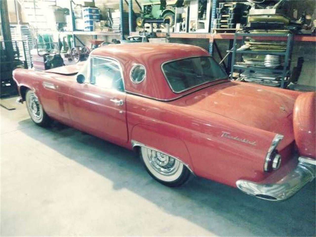 1956 Ford Thunderbird for sale in Cadillac, MI