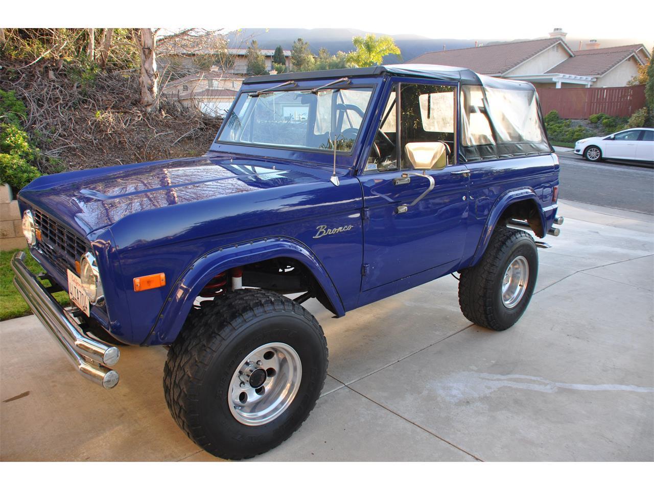 1977 Ford Bronco For Sale In Corona Ca Classiccarsbay Com