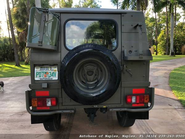 1977 Steyr Puch Pinzgauer 712K 6x6 Hard top! Very rare, Hard to find v for sale in Naples, FL – photo 4