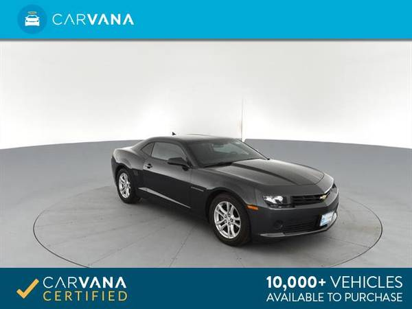 2014 Chevy Chevrolet Camaro LS Coupe 2D coupe Dk. Gray - FINANCE for sale in Eaton Rapids, MI – photo 9