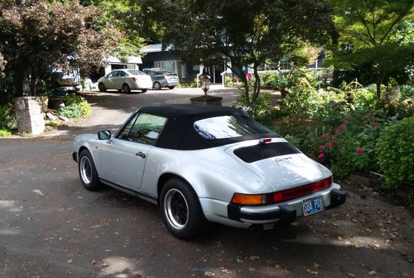 1984 Porsche 911 Carrera Cabriolet for sale in Portland, CA – photo 9