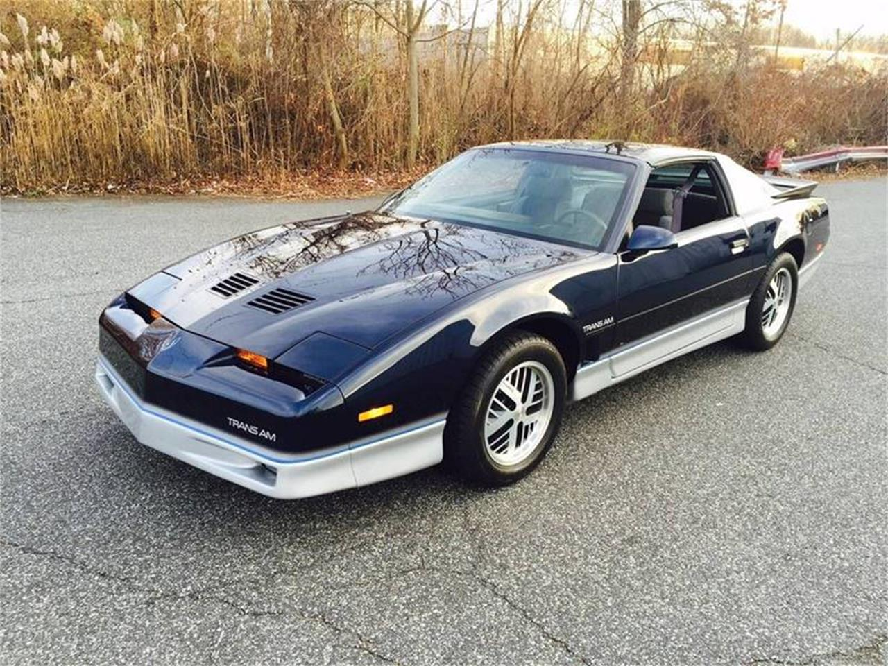 1986 Pontiac Firebird Trans Am For Sale In Long Island Ny Classiccarsbay Com