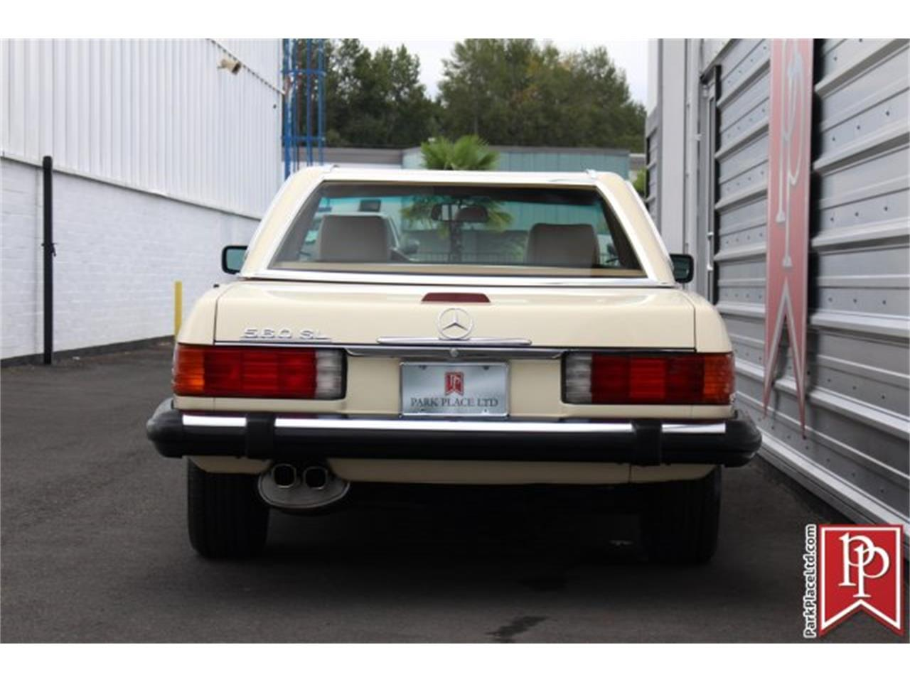 1988 Mercedes-Benz 560SL for sale in Bellevue, WA ...