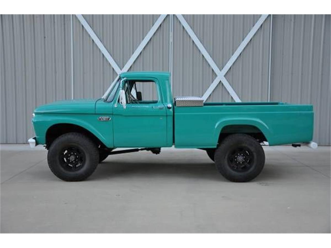 1966 Ford F250 For Sale In Cadillac Mi Classiccarsbay Com