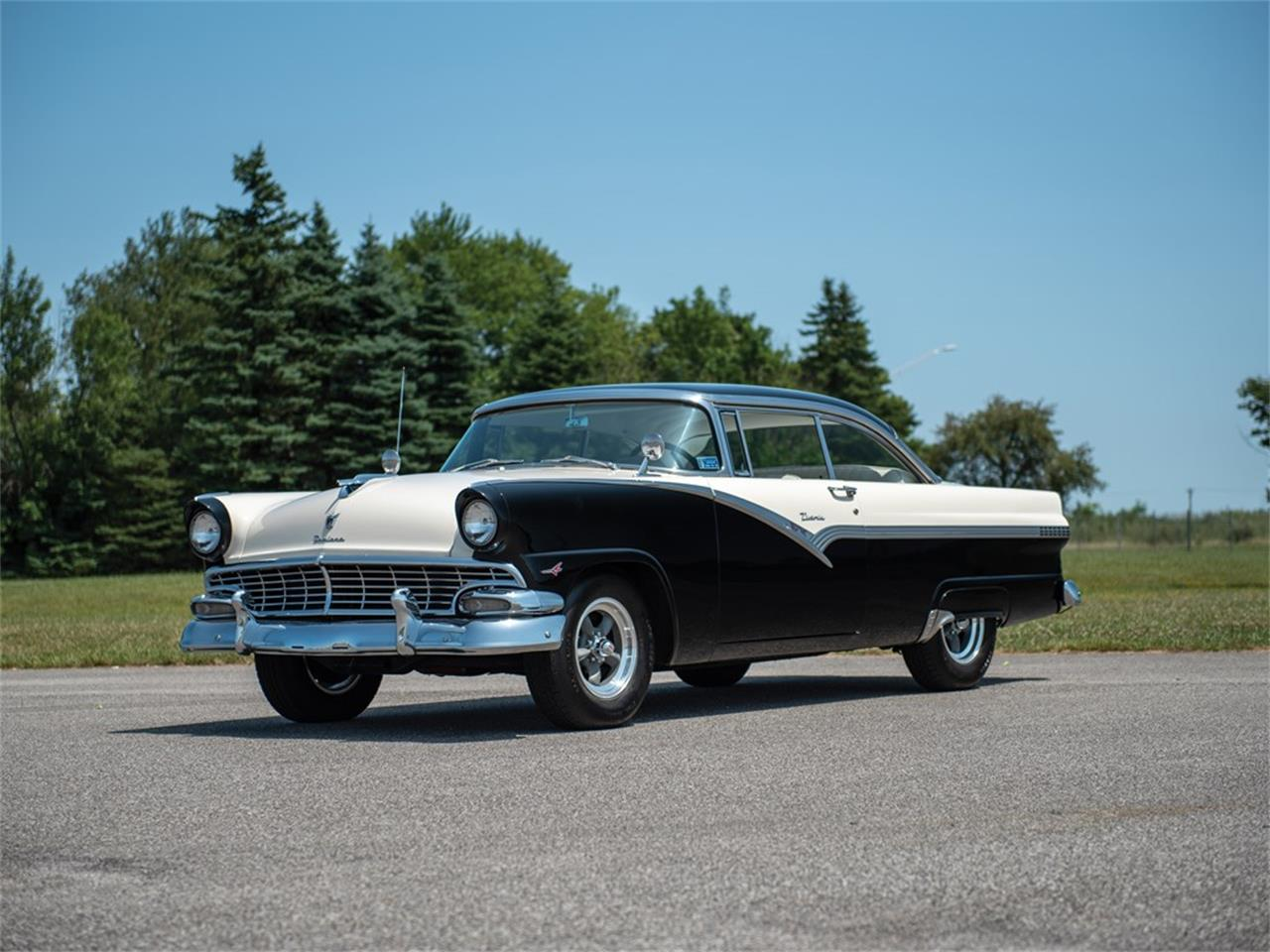 1956 Ford Fairlane Victoria for sale in Auburn, IN