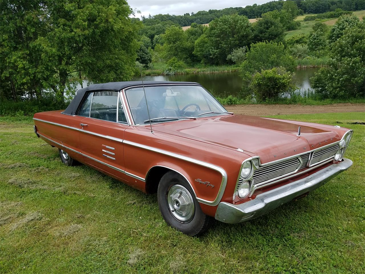 1966 Plymouth Sport Fury for sale in North Woodstock, CT